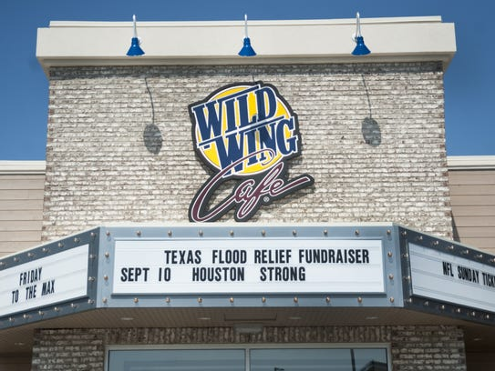 Exterior of Wild Wing Cafe in Barrington, which is