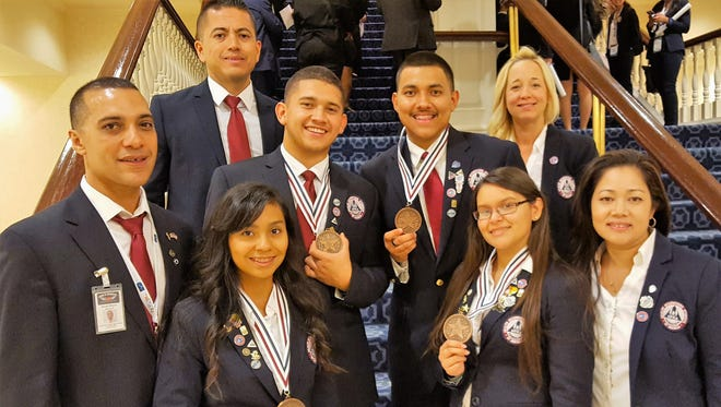 Students from Coachella Valley High School's Health Occupations Students of America team won third place at a national competition dedicated to future health professionals.
