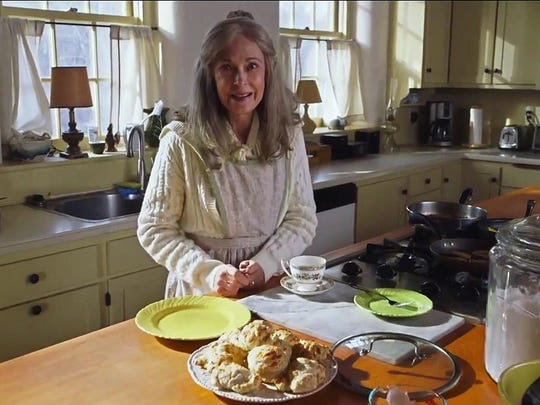 "There's plenty of food at grandma's house but even more in the way of peculiar behavior when two teens go over the river and through the woods for ""The Visit."""