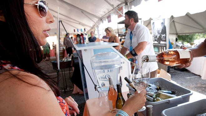 There will be a number of opportunities to taste wine during Euphoria.