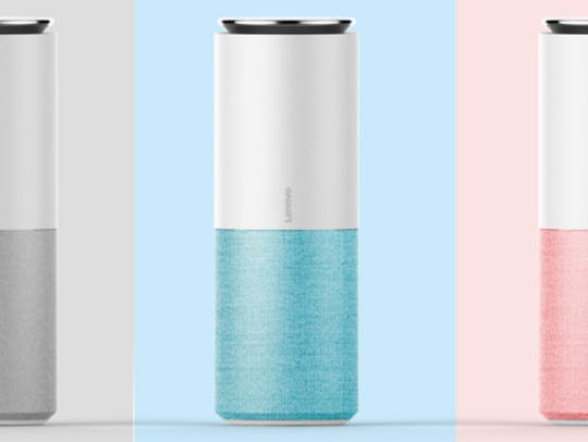 The Lenovo Smart Assistant with Alexa