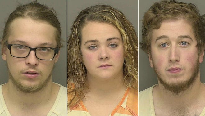 Wyatt Marshall, Taylor Schulte and Michael Tournier.