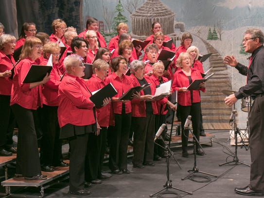 Crystal Chords, led by Bill McKay, perform  during