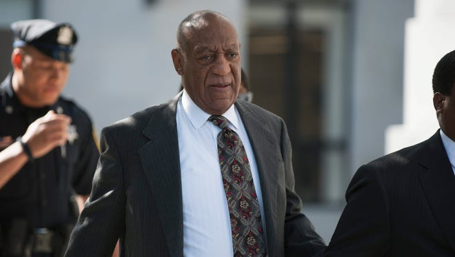 Bill Cosby arrives at the Montgomery County Courthouse for a preliminary hearing in Norristown, Pa., on May 24, 2016.