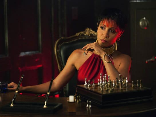Jada Pinkett Smith, who plays Fish Mooney, on television's