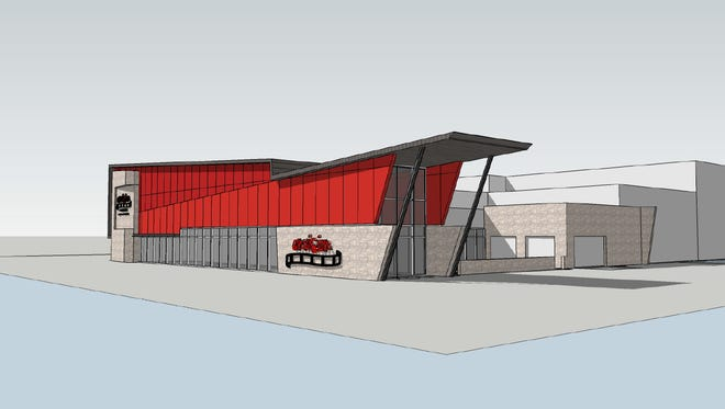 A rendering of Envision Cinemas, a movie theater and restaurant that should open next summer in Blue Ash.