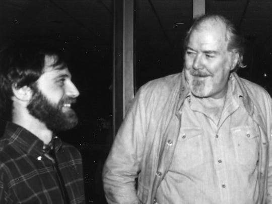 (Left to right): Producer Ira Deutchman and director Robert Altman at a premiere for Gillian Armstrong's 1982 film 'Starstruck.'