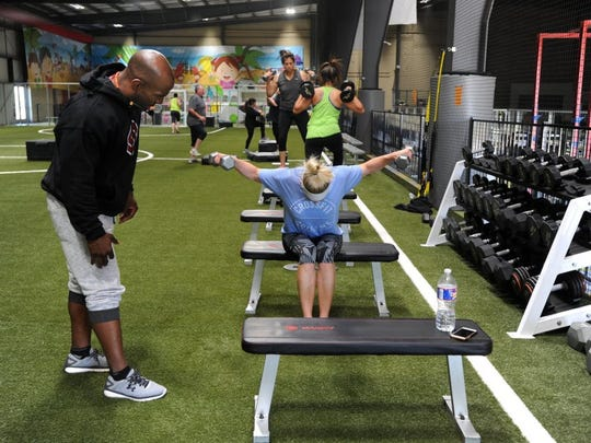 """Trainer Bennie Wylie Jr.'s success on the NBC-show """"Strong"""" in 2016 increased awareness of fitness in Abilene."""