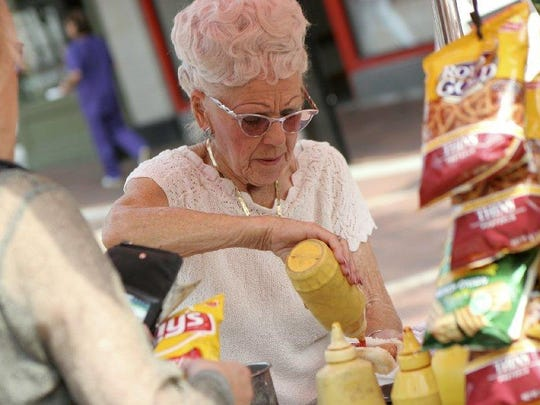Lois Bodoky, known as the Hot Dog Lady, was a fixture on the Church Street Marketplace for decades.