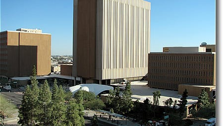 Maricopa County Central Court Complex in downtown Phoenix.
