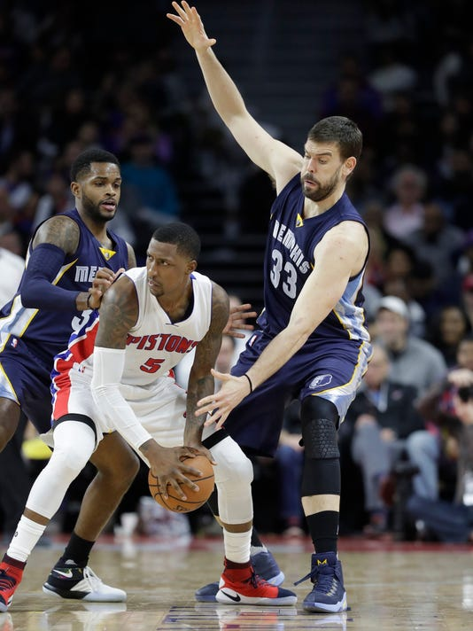 Kentavious Caldwell-Pope, Marc Gasol, Troy Daniels