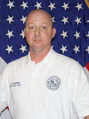 Ocean City Fire's new Deputy Chief Chris Shaffer.