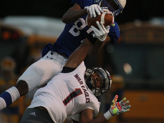 Godby's Nick Dixon catches a game-winning touchdown