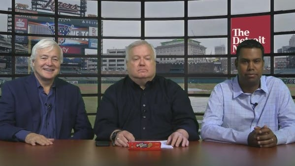 Lynn Henning, from left, Bob Wojnowski and John Niyo talk about the Tigers after the 42-game mark of the season.