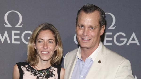 Matthew Mellon and then-wife Nicole Hanley are pictured in 2014.