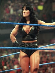 "Joanne ""Chyna'' Laurer in this 1999 photo. Rochester native was ground-breaker in WWE."