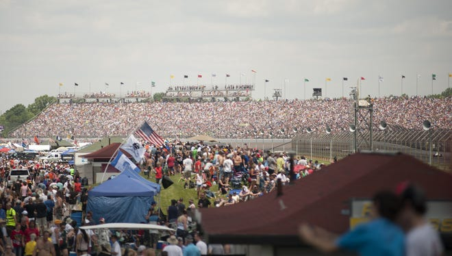 Fans filled the seats of turn three last May 29 for the  100th running of the Indianapolis 500.