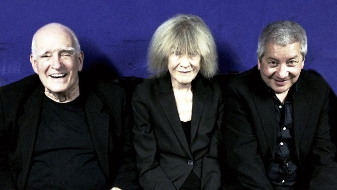The Carla Bley Trio, from left, Steve Swallow, Carla Bley and Andy Sheppard