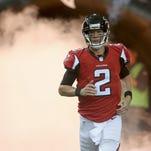 Falcons quarterback Matt Ryan threw for 4,694 yards and 28 touchdowns in 2014.