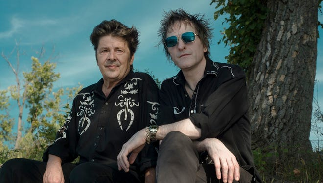Cowboys in the Campfire (Tommy Stinson, right, and Chip Roberts) will perform July 26 at the Do317 Lounge & Gallery, 1043 Virginia Ave., Suite 215