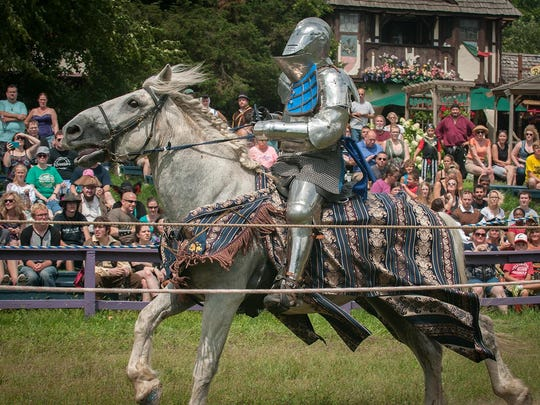 The Michigan Renaissance Festival kicks off Saturday in Holly.