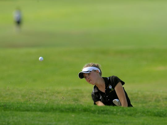 A 79 at Thursday's CIF-Southern Section Girls Golf Individual Finals at Western Hills Golf Course was good enough to get Newbury Park High's Madison Wood a spot in next week's regional tournament