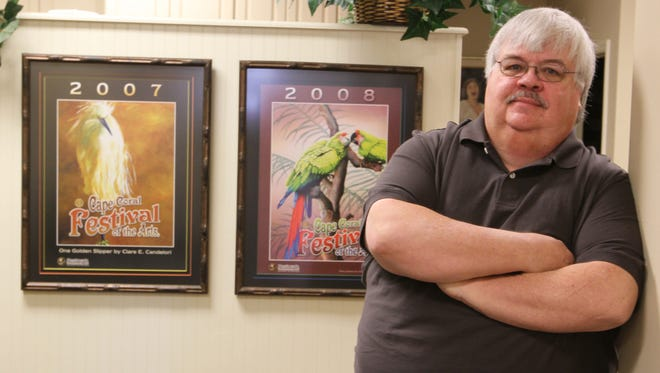 John Jacobsen is the founder of Cape Coral Festival for the Arts.