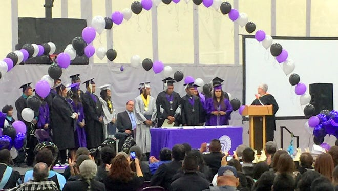 The Mescalero Apache Tribe honored its Mescalero High School graduates last week.
