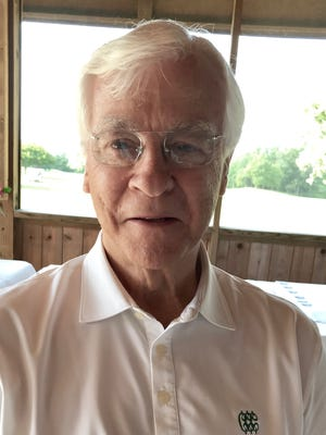 Dr. Ralph Ballenger was this year's guest speaker at the Heart of Ohio Junior Golf Association's season-ending banquet Wednesday night at Kings Mill Golf Course in Waldo.