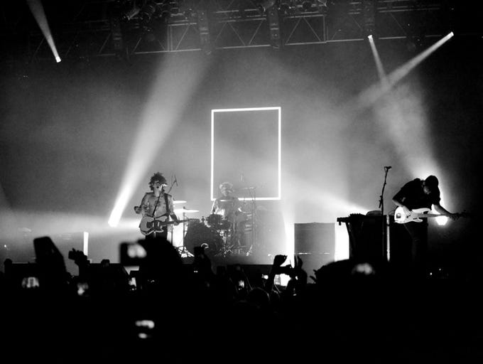 The 1975, a band from Manchester, England, performed at a sold-out concert at House of Blues-Orlando on May 21.