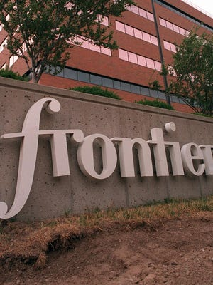 Frontier Communications offices in Rochester.
