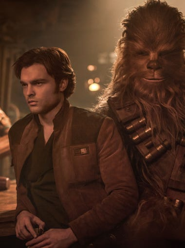 """How did the partnership between Han Solo (Alden Ehrenreich) and Chewbacca start? You may find out in  """"Solo: A Star Wars Story."""""""
