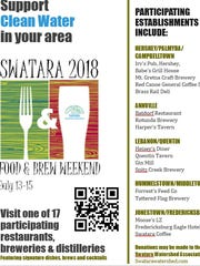 Swatara Food & Brew Weekend runs from July 13-15, with special items on sale at 17 participating locations.