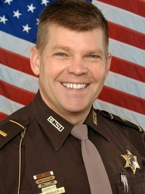 Hillsdale County Sheriff Tim Parker is retiring Friday, creating a vacancy in the office that will be filled by a statutory committee. HDN FILE PHOTO