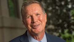 Ohio Gov. John Kasich discusses his new book with USA