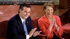 Republican presidential candidate, Sen. Ted Cruz, R-Texas,