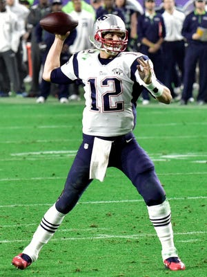 Tom Brady rallied the Patriots from a 10-point, fourth-quarter deficit to win Super Bowl XLIX.