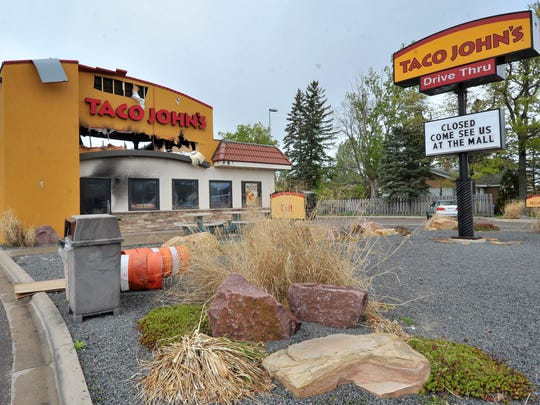 Owners of the Taco John's in Weston plan to rebuild the restaurant by the end of this summer.