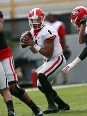 Early enrollee Justin Fields is in the mix to start at quarterback this season.