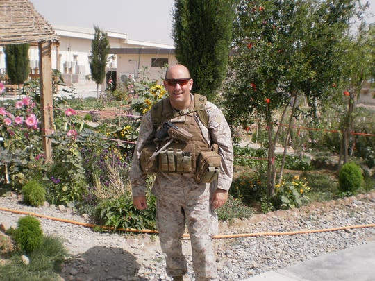 Eric Mellinger, whose nomination to a military academy by NJ Rep. Chris Smith in 1982 launched a 30-year career in the Marines, serving in Afghanistan in 2009, one of five combat deployments.