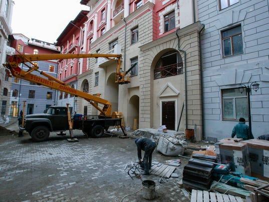AP Sochi Olympics Hotel Woes