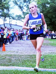 Lakeland all-stater Olivia Clymer was 29th in last