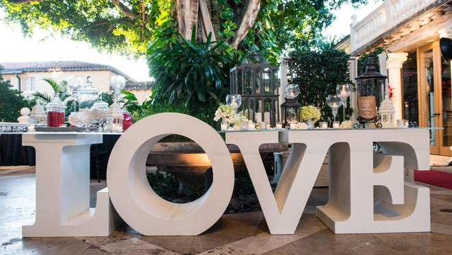 The Addison in Boca Raton is featuring a three-course Valentine's Day dinner which also includes an open-bar and live entertainment.