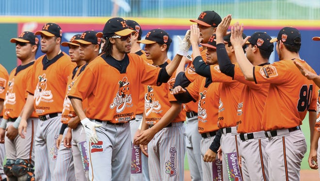 Los Naranjeros de Hermosillo, which played in El Paso last year, return this weekend for a Friday night game and a Saturday afternoon game as part of the Mexican League games at Southwest University Park.