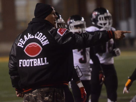 Pearl-Cohn coach Tony Brunetti instructs his team of