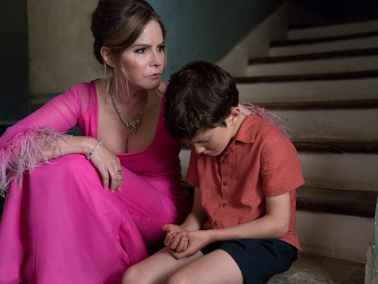 Jennifer Jason Leigh as Eleanor Melrose and Sebastian