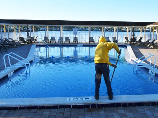 WILD ART Cold weather pool cleaner