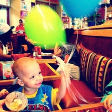 Ezra Matthews died of of neuroblastoma, an aggressive form of cancer, just before his third birthday.