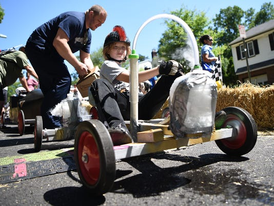 Second annual Downhill Derby in Rutherford, NJ