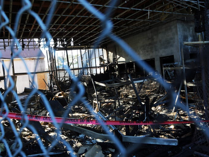 An early-morning fire caused extensive damage at the Union Gospel Mission Store.